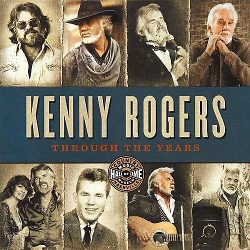 Country Music Hall of Fame Kenny Rogers: Through the Years Book Series Softcover Written by Country Music Hall of Fame