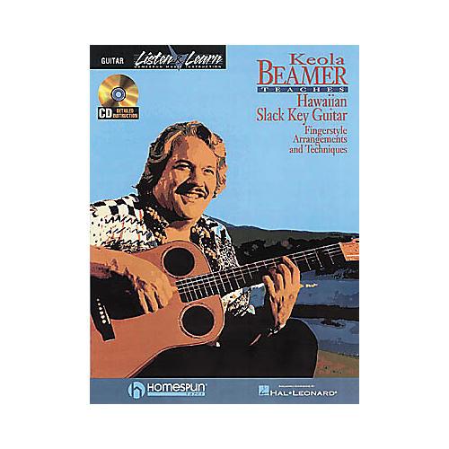 Hal Leonard Keola Beamer Teaches Hawaiian Slack Key Guitar-thumbnail