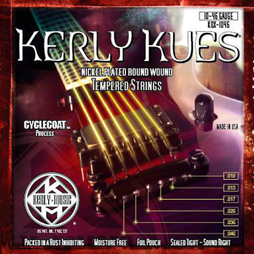 Kerly Music Kerly Kues Nickel Wound Electric Guitar Strings Medium