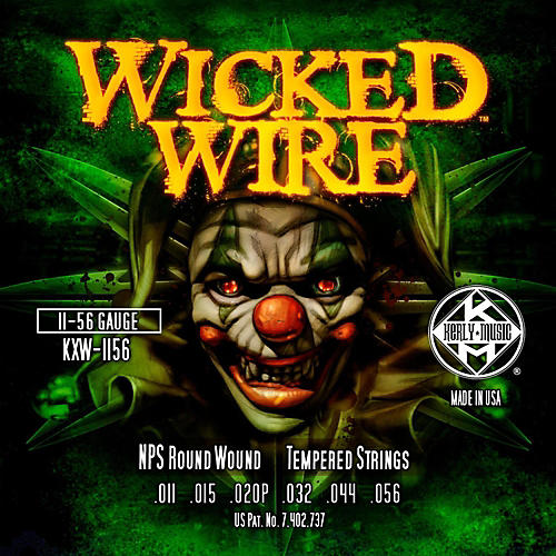 Kerly Music Kerly Wicked Wire NPS Electric Heavy 11-56-thumbnail