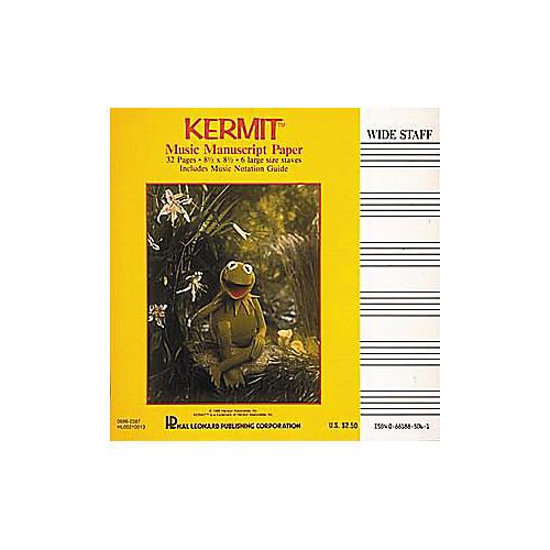 Hal Leonard Kermit The Frog Manuscript Paper Book-thumbnail
