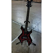 B.C. Rich Kerry King Wartribe 1 Warlock Solid Body Electric Guitar