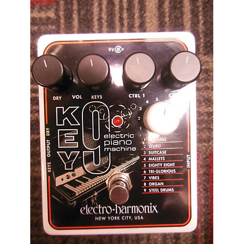 Electro-Harmonix Key9 Electric Piano Machine Effect Pedal-thumbnail
