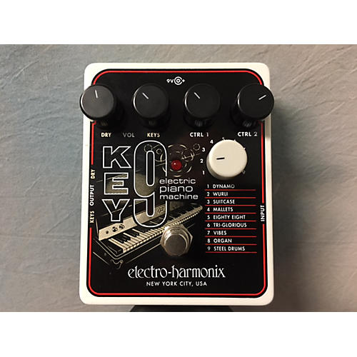 used electro harmonix key9 electric piano machine effect pedal guitar center. Black Bedroom Furniture Sets. Home Design Ideas