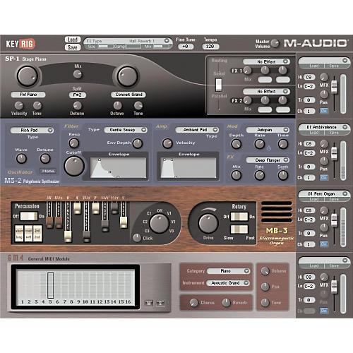 M-Audio KeyRig Virtual Instrument Plug-In-thumbnail