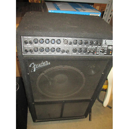 used fender keyboard 200 keyboard amp guitar center. Black Bedroom Furniture Sets. Home Design Ideas