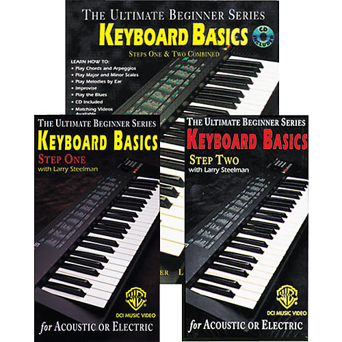 Alfred Keyboard Basics Mega Pak Book/CD/Video