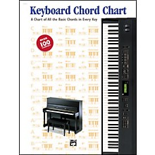 Alfred Keyboard Chord Chart Book