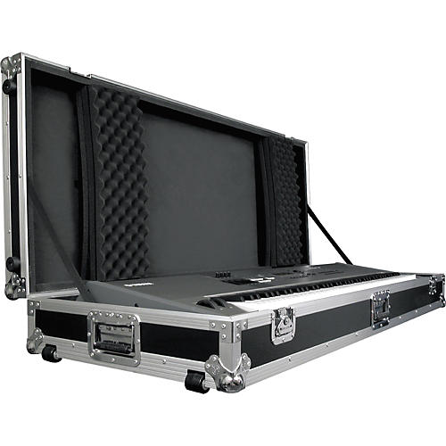 Road Runner Keyboard Flight Case with Casters-thumbnail