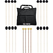 Vic Firth Keyboard Mallet 10-Pack w/ Free Mallet Bag - M183(4), M188(4) ,M134(2)