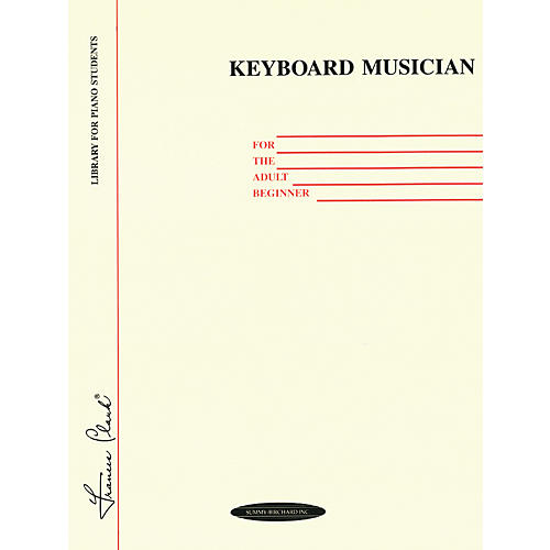 Alfred Keyboard Musician for the Adult Beginner-thumbnail