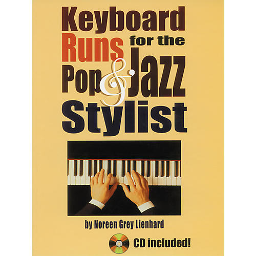 Alfred Keyboard Runs for the Pop & Jazz Stylist Book with CD-thumbnail