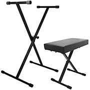 On-Stage Stands Keyboard Stand and Bench Pak