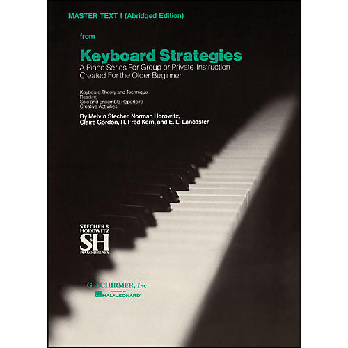 Music Sales Keyboard Strategies Vol 1 Pn Abridged Master By Stecher-thumbnail