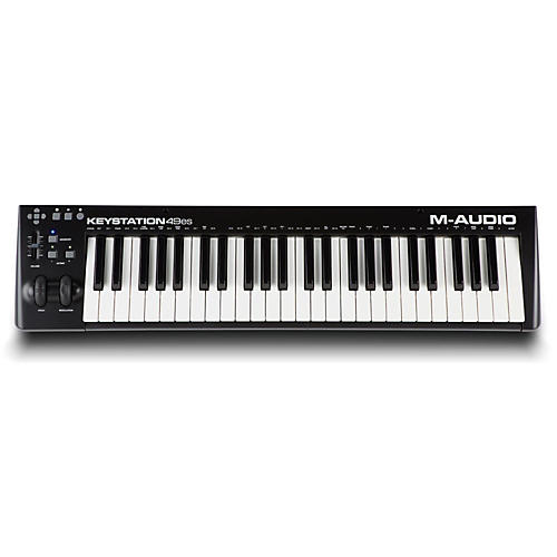 M-Audio Keystation 49ES Black with Ableton Lite-thumbnail