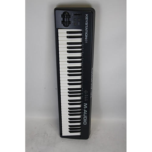 used m audio keystation 61 midi controller guitar center. Black Bedroom Furniture Sets. Home Design Ideas