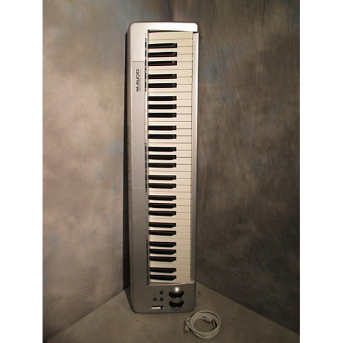 used m audio keystation 61es midi controller guitar center. Black Bedroom Furniture Sets. Home Design Ideas