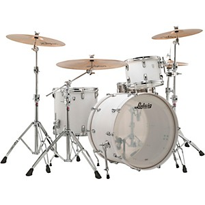 Ludwig Keystone X 3-Piece Pro Beat Shell Pack with 24 in. Bass Drum by Ludwig