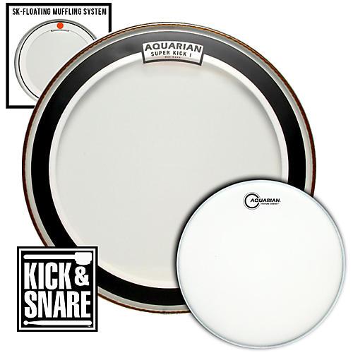 Aquarian Kick & Snare Pack-thumbnail