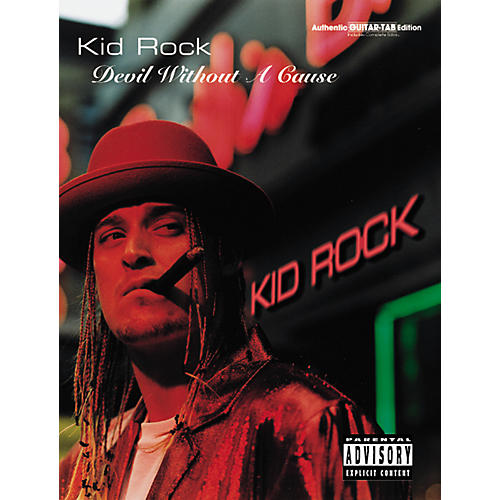 Alfred Kid Rock Devil Without a Cause Guitar Tab Book-thumbnail