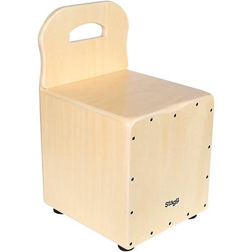 Stagg Kid's Cajon with Backrest-thumbnail