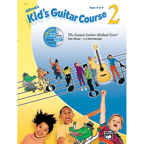 Alfred Kid's Guitar Course 2 (Book/CD/DVD)-thumbnail