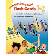 Alfred Kid's Guitar Course Flash Cards 1 & 2