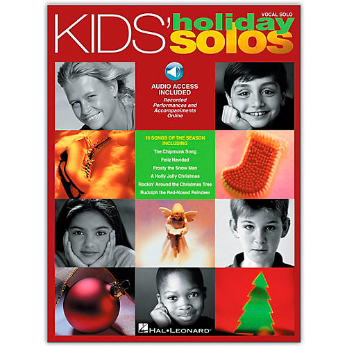 Hal Leonard Kids' Holiday Solos (Book/Online Audio)-thumbnail