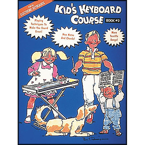 Hal Leonard Kids Keyboard Course Book 2 E-Z play Today
