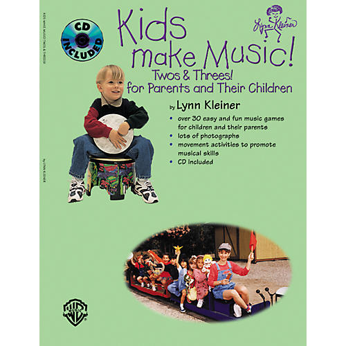 Rhythm Band Kids Make Music! Twos and Threes! (Parents' Book/CD)