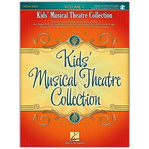 Hal Leonard Kids' Musical Theatre Collection Volume 1 (Book/Online Audio)-thumbnail