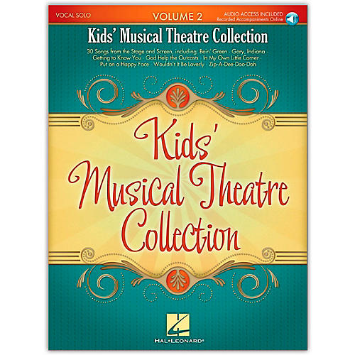 Hal Leonard Kid's Musical Theatre Collection Volume 2 Book/Online Audio-thumbnail