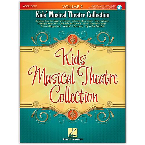 Hal Leonard Kid's Musical Theatre Collection Volume 2 Book