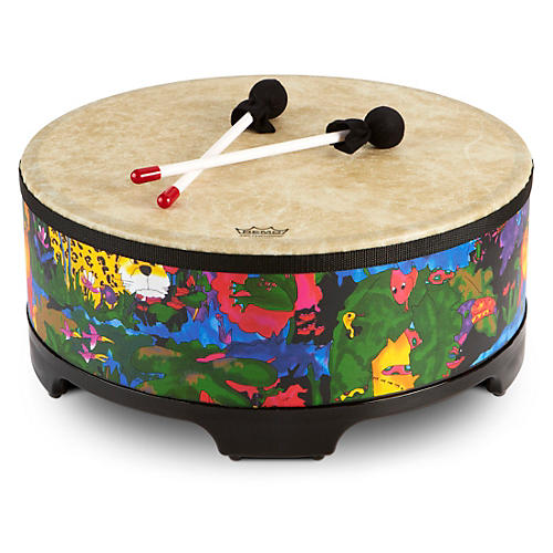 Remo Kid's Percussion Rain Forest Gathering Drum-thumbnail
