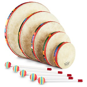 Remo Kids Percussion Rain Forest Hand Drum Set