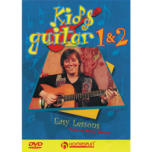 Hal Leonard Kids' Rock Guitar DVD DVD 1 and 2