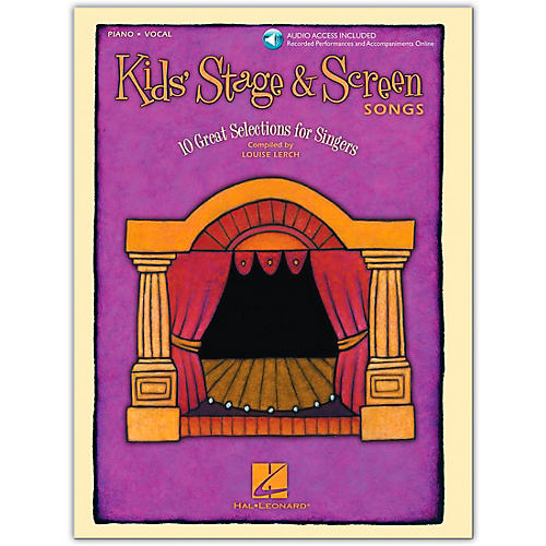 Hal Leonard Kids' Stage and Screen Songs Vocal (Book/Online Audio)-thumbnail