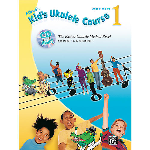 Alfred Kid's Ukulele Course 1 Book and CD