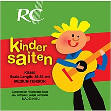 RC Strings Kindersaiten KS460 Nylon Guitar Strings (46-51)