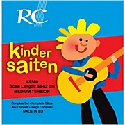 RC Strings Kindersaiten KS580 Nylon Guitar Strings (58-62)