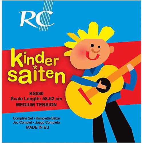 RC Strings Kindersaiten KS580 Nylon Guitar Strings (58-62)-thumbnail