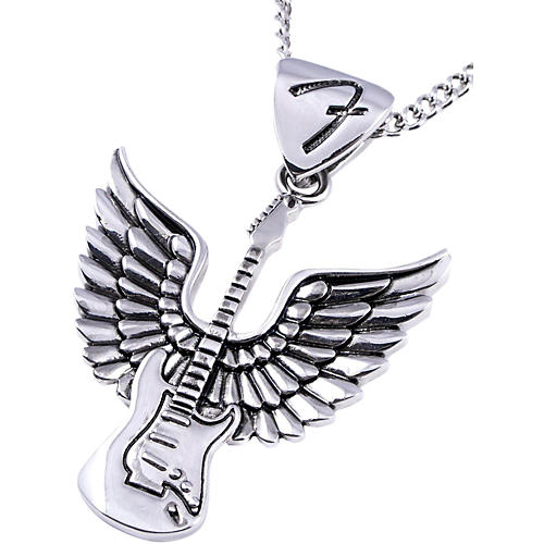 Fender King Baby Winged Stratocaster Necklace