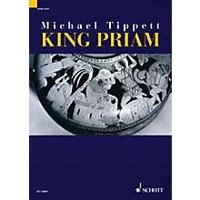 Schott King Priam - Opera iin 3 Acts (1958-1961) (Study Score) Schott Series Composed by Michael Tippett