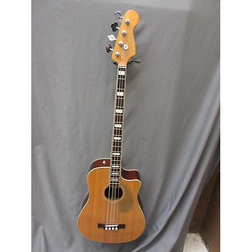 used fender kingman 4 string acoustic bass guitar spruce guitar center. Black Bedroom Furniture Sets. Home Design Ideas