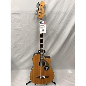 Pre-owned Fender Kingman 4 String Acoustic Bass Guitar