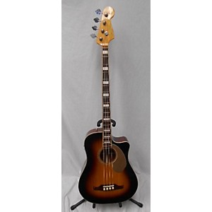 Pre-owned Fender Kingman 4 String Acoustic Bass Guitar