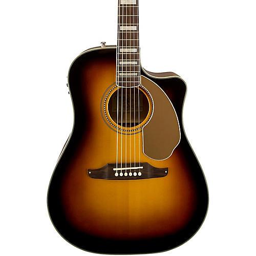 Fender Kingman ASCE Dreadnought Cutaway Acoustic-Electric Guitar 3-Color Sunburst