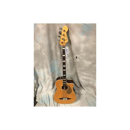 Fender Kingman Acoustic Electric Bass Acoustic Bass Guitar-thumbnail