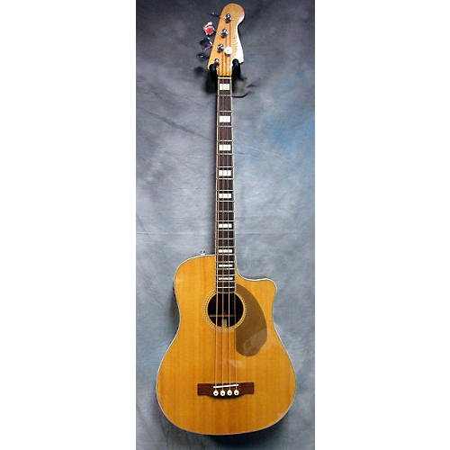 Fender Kingman Acoustic Electric Bass Natural Acoustic Bass Guitar-thumbnail