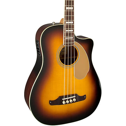 Fender Kingman Bass SCE Acoustic-Electric Bass 3-Color Sunburst